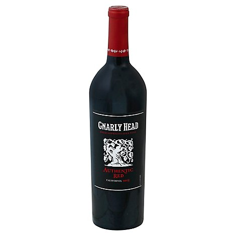 Gnarly Head Lodi Authentic Red Wine - 750 Ml