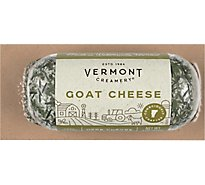 Vermont Creamery Goat Cheese Logs With Herbs - 4 Oz