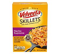 Velveeta Cheesy Skillets Dinner Kit Nacho Supreme Box - 15.66 Oz