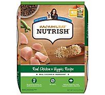 Rachael Ray Nutrish Food for Dogs Real Chicken & Veggies Recipe Bag - 14 Lb