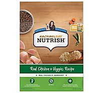 Rachael Ray Nutrish Food for Dogs Real Chicken & Veggies Recipe Bag - 6 Lb