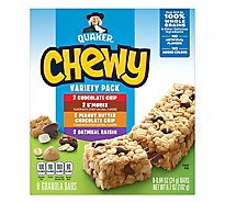 Quaker Chewy Granola Bars Variety Pack - 8-0.84 Oz