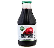 Open Nature 100% Juice Pomegranate - 33.8 Fl. Oz.