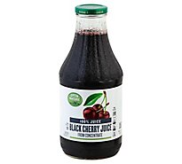 Open Nature 100% Juice Black Cherry - 33.8 Fl. Oz