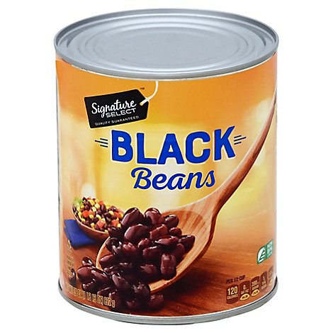 Signature SELECT Beans Black - 29 Oz