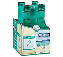 Barefoot Cellars Moscato White Wine -4-187 Ml