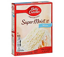 Betty Crocker Cake Mix Super Moist Favorites White - 16.25 Oz