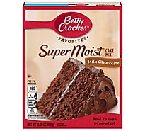 Betty Crocker Cake Mix Super Moist Favorites Milk Chocolate - 15.25 Oz