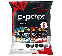 popchips Popped Chip Snack Assorted - 6-0.8 Oz