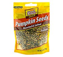 Good Sense Roasted & Salted Pepitas - 6 Oz