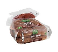 Open Nature Buns Sandwich 100% Whole Wheat - 21 Oz
