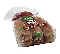 Open Nature Buns Hot Dog 100% Whole Wheat - 16 Oz