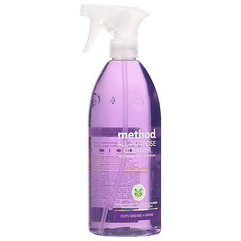 Method All Purpose Natural Surface Cleaner French Lavender Spray - 28 Fl. Oz.