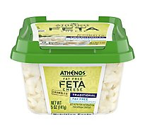Athenos Cheese Feta Crumbled Fat Free - 5 Oz