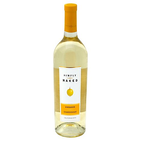 Simply Naked Wine White Chardonnay - 750 Ml