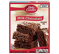 Betty Crocker Brownie Mix Milk Chocolate - 18.4 Oz