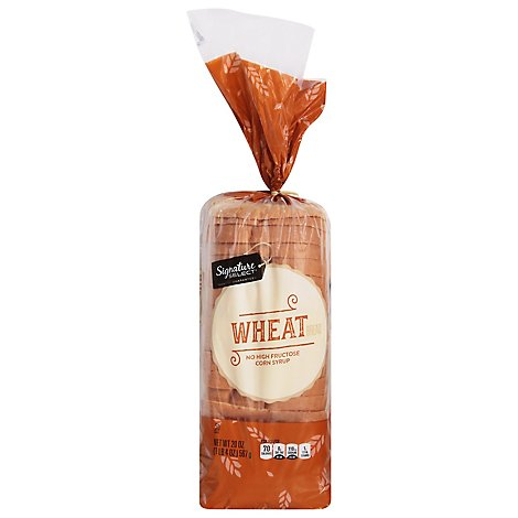 Signature SELECT Bread Wheat - 20 Oz
