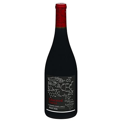 Educated Guess Pinot Noir Wine - 750 Ml
