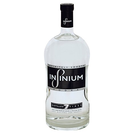 Infinium Vodka Distilled 7 Times 80 Proof - 1.75 Liter