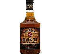 Jim Beam Whiskey Bourbon Kentucky Straight Devils Cut 90 Proof - 750 Ml