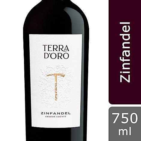 Montevina Winery Terra D Oro Zinfandel Wine - 750 Ml