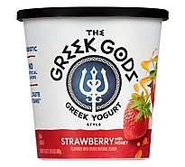 Greek Gods Yogurt Greek Style Honey Strawberry - 24 Oz