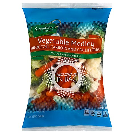 Signature Farms Vegetable Medley Steam In Bag - 12 Oz