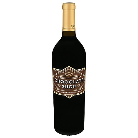 Chocolate Shop Chocolate Red Wine - 750 Ml