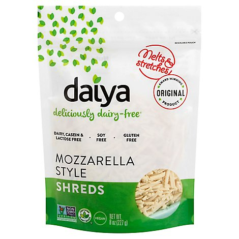 Daiya Shredded Mozzarella Style Cheese - 8 Oz