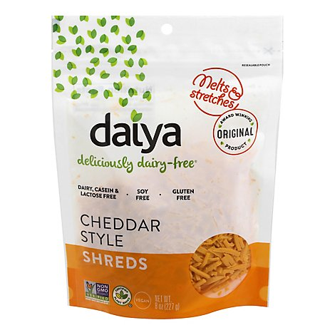 Daiya Shredded Cheddar Style Cheese - 8 Oz