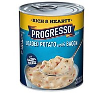 Progresso Rich & Hearty Soup Loaded Potato with Bacon - 18.5 Oz
