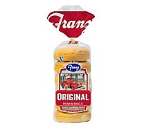 Franz New York Bagels Plain - 18 Oz