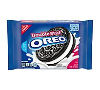 OREO Double Stuff Cookies Sandwich Chocolate - 15.35 Oz