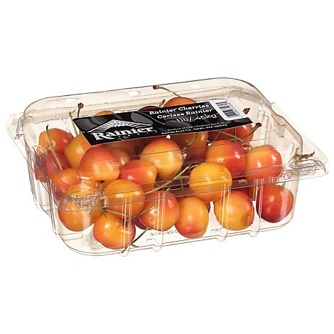 Cherries Strawberry Clamshell Prepacked - 1 Lb