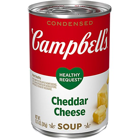 Campbells Healthy Request Condensed Soup Cheddar Cheese - 10.75 Oz