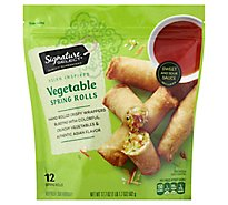 Signature SELECT Spring Rolls Vegetable - 17.7 Oz