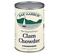 Bar Harbor Chowder Condensed Clam New England Style - 15 Oz