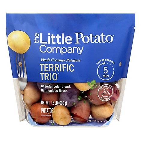 Potatoes Terrific Trio Petite - 1.5 Lb