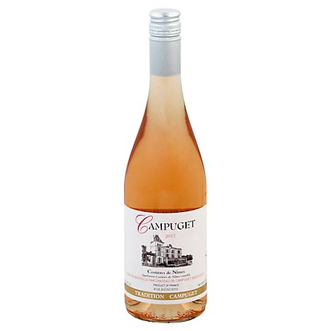Chateau De Campuget Rose Wine - 750 Ml
