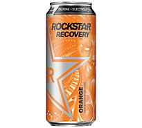Rockstar Energy Drink Recovery Orange Energy/Hydration - 16 Fl. Oz.