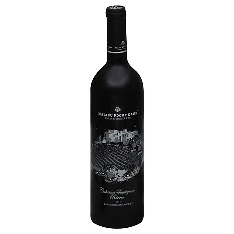 Malibu Rocky Oaks Wine Cabernet Sauvignon Reserve Los Angeles County - 750 Ml