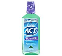 ACT Total Care Mouthwash Anticavity Fluoride Fresh Mint - 18 Fl. Oz.