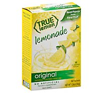 True Lemon Drink Mix Original Lemonade 10 Count - 1.06 Oz