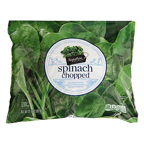 Signature SELECT Chopped Spinach - 32 Oz