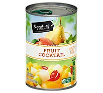 Signature SELECT Fruit Cocktail in Extra Light Syrup Can - 15 Oz