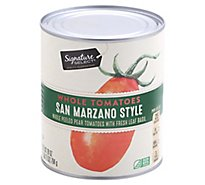 Signature SELECT Tomatoes Whole San Marzano Style - 28 Oz