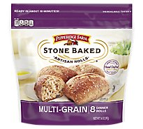 Pepperidge Farm Stone Baked Artisan Rolls Multi Grain 8 Count - 14 Oz