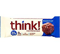 thinkThin High Protein Bar Brownie Crunch - 2.1 Oz