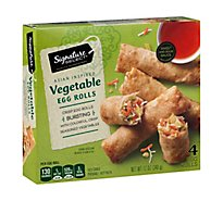 Signature SELECT Egg Rolls Vegetable 4 Count - 12 Oz