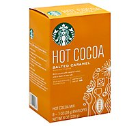 Starbucks Cocoa Hot Mix Salted Caramel - 8-1 Oz
